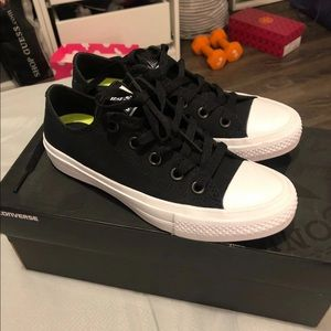 Brand New Black Converse Sz 4